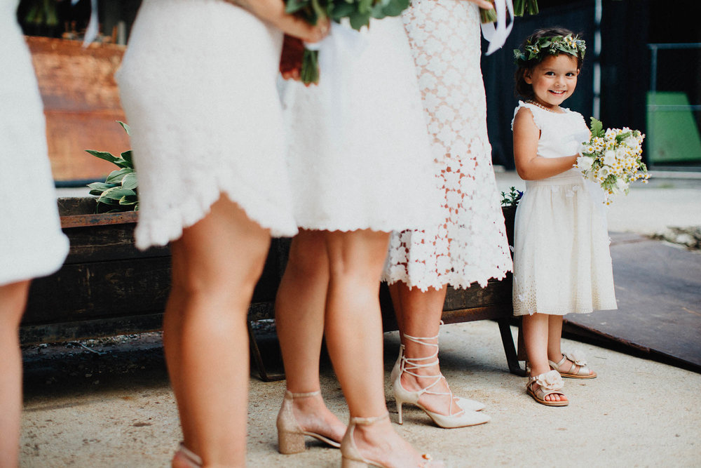 Adorable Flower Girl Flower Crown Strongwater Wedding Photographers
