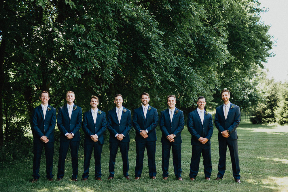 Bryn Du Mansion Groomsmen Style Attire