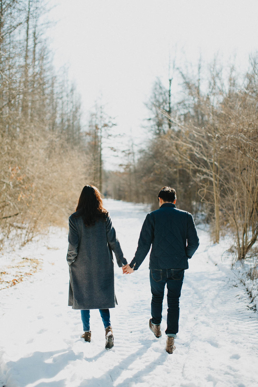 Sweet Winter Engagement Session