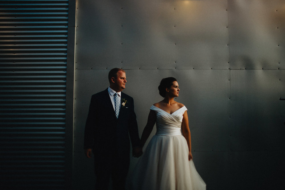 Dramatic Light Via Vecchia Wedding Columbus Ohio