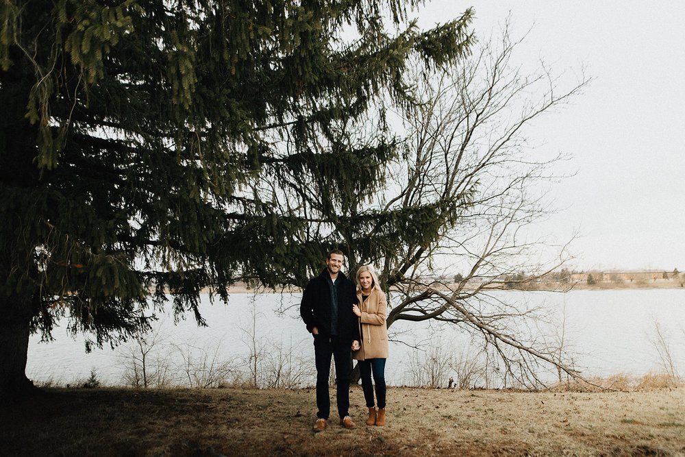 Eastwood Lake Engagement Photographers in Dayton Ohio
