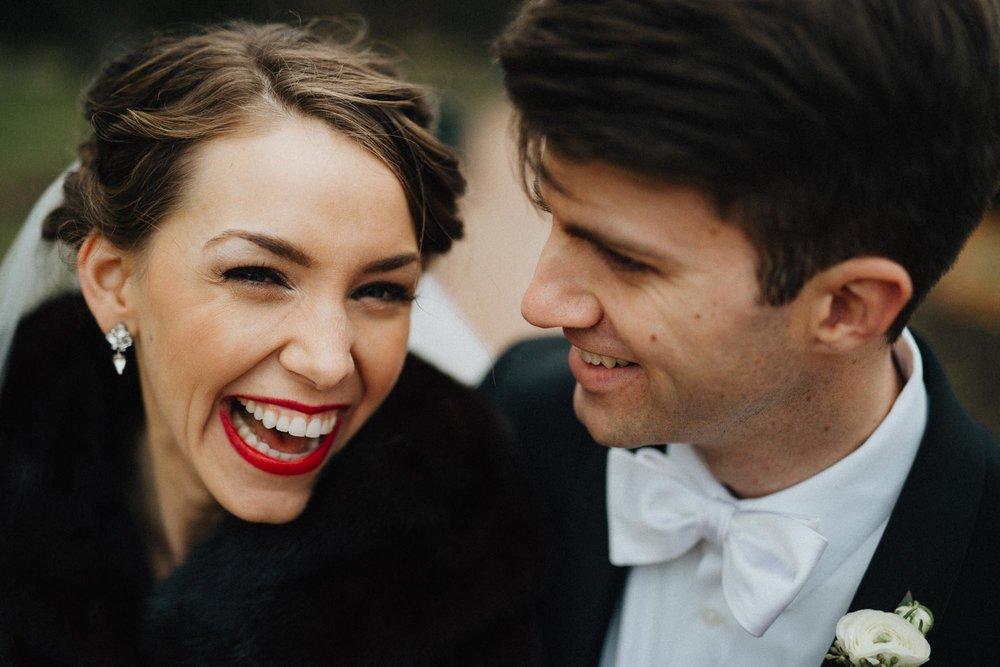 Columbus Ohio Wedding Smiling Bride