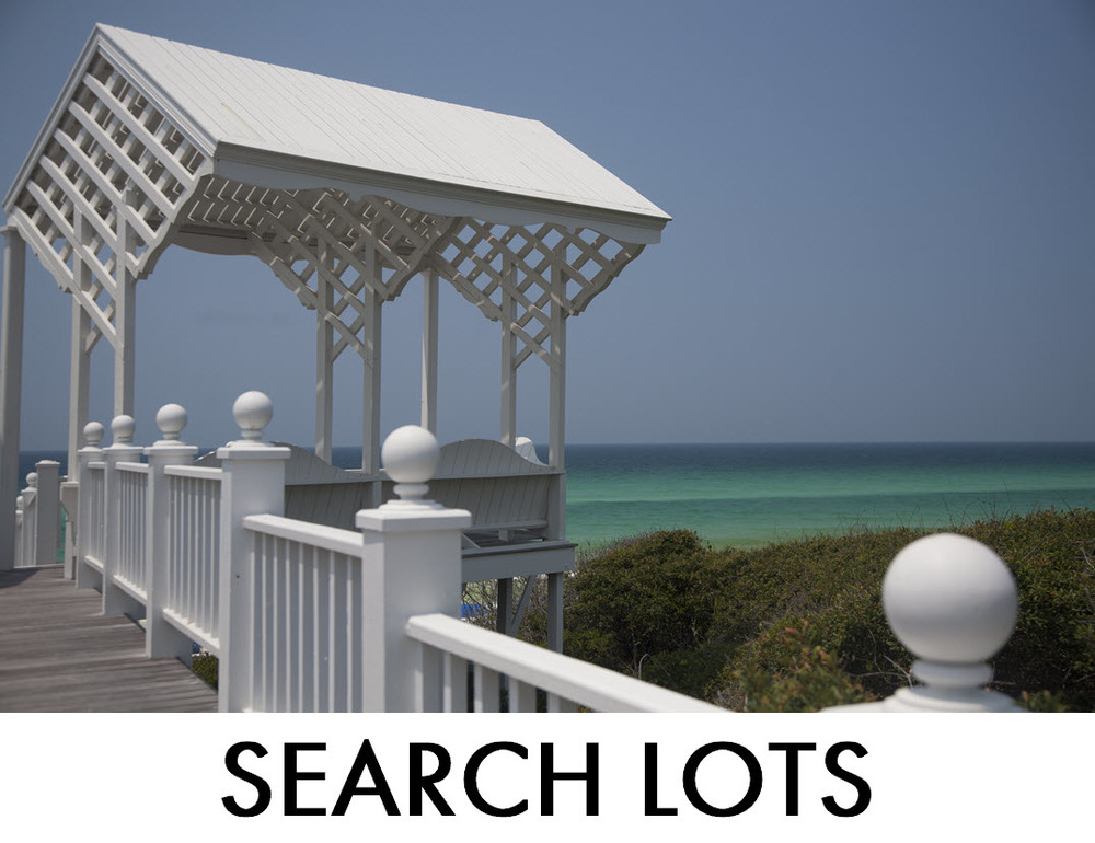 Gulf Front Lots 30A Destin South Walton for Sale