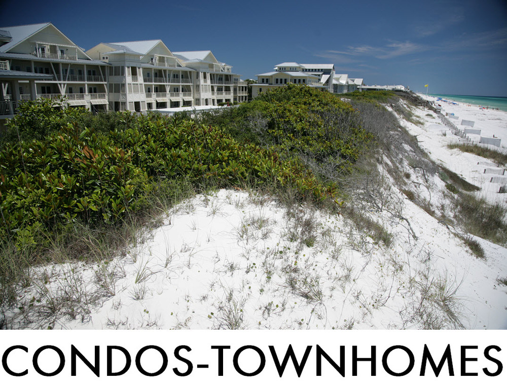 WaterColor Condos and Townhomes for Sale