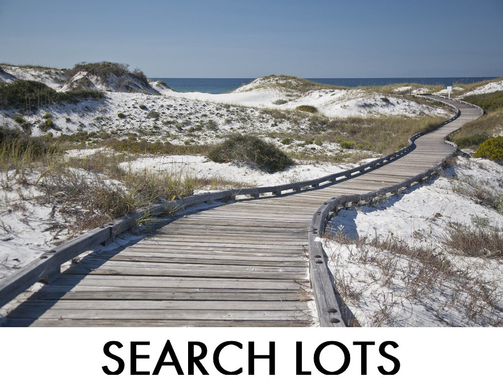 Search WaterSound Lots