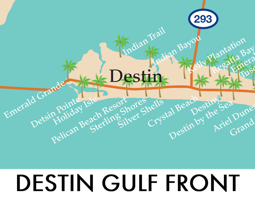 Search Destin Gulf Front Homes