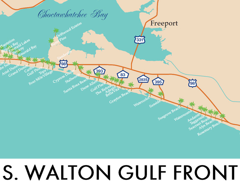 Search All South Walton Gulf Front Homes