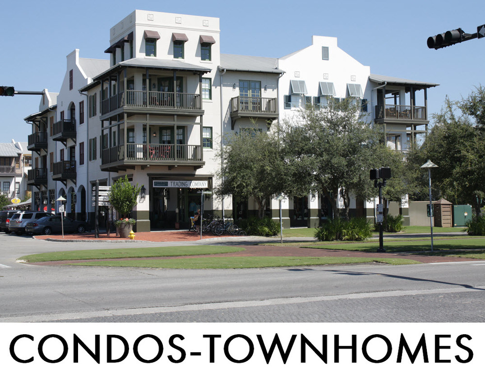 Search Rosemary Beach Condos and Townhomes