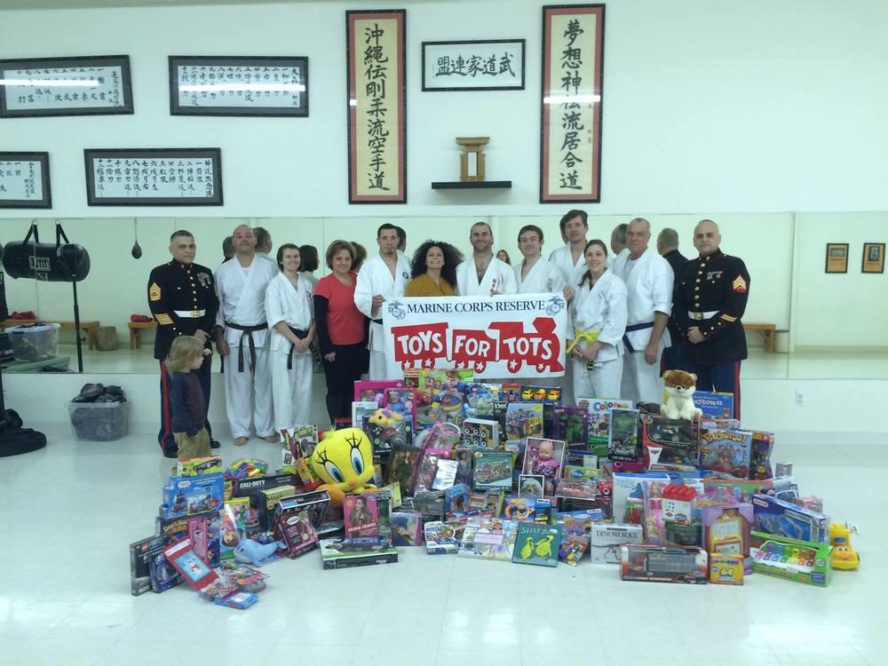 Toys For Tots TheDOJO Sensei Dan Rominski Rutherford NJ Karate 3.jpg