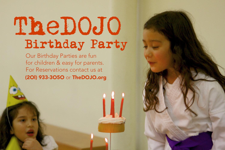 Birthday Parties TheDOJO