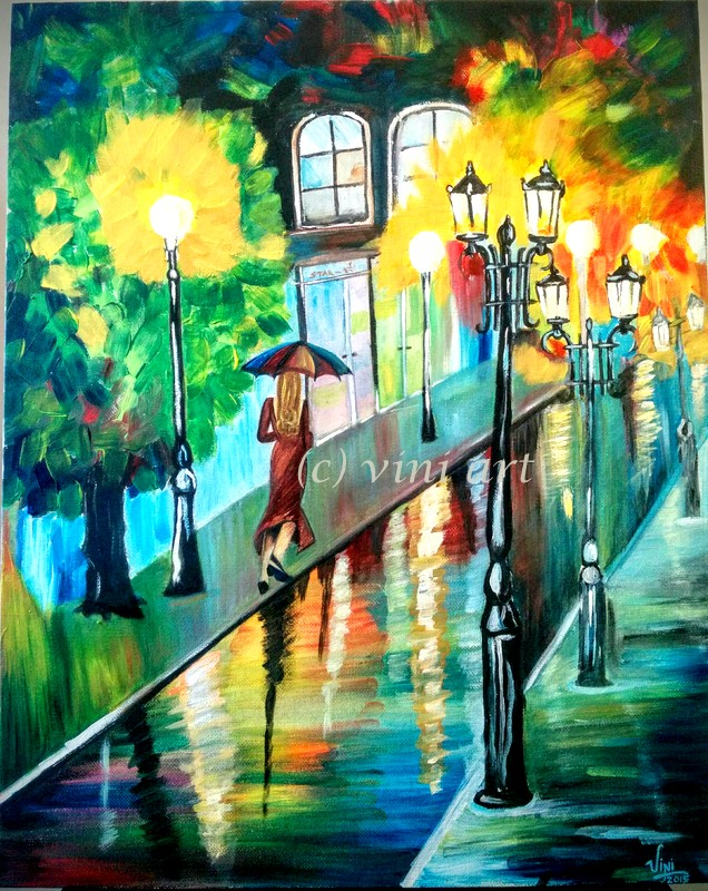 """Rainy Night"""