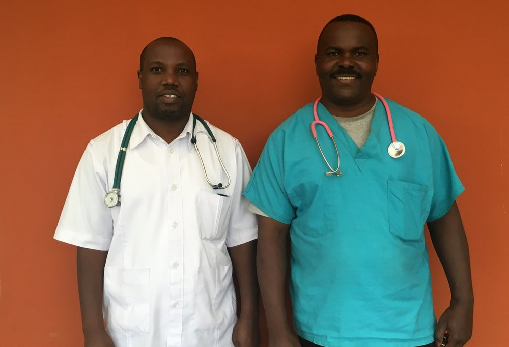 Mary's Healthcare Providers, Dr Ivan & Sehewa (Anesthetist/Wound Care)