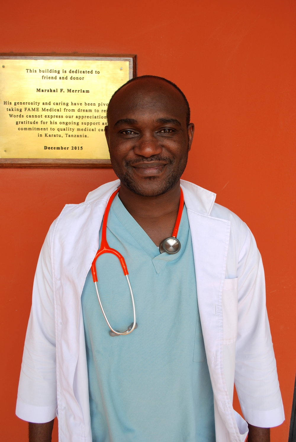 Gabriel Paul Kissima, MD  Head Doctor