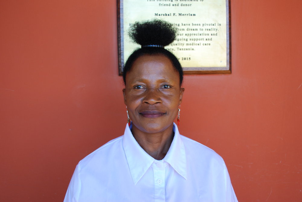 Mary Msuya  Head Receptionist and Translator