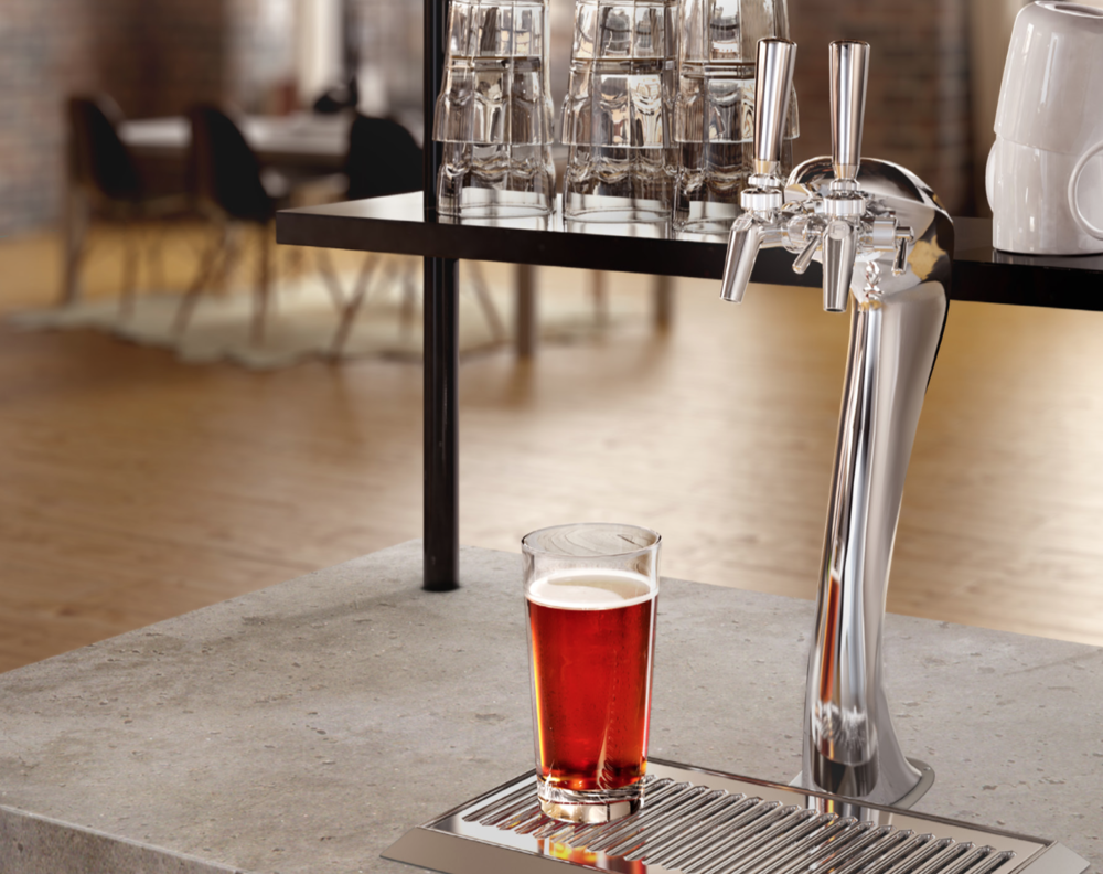 The new Adara beer tap from Perlick