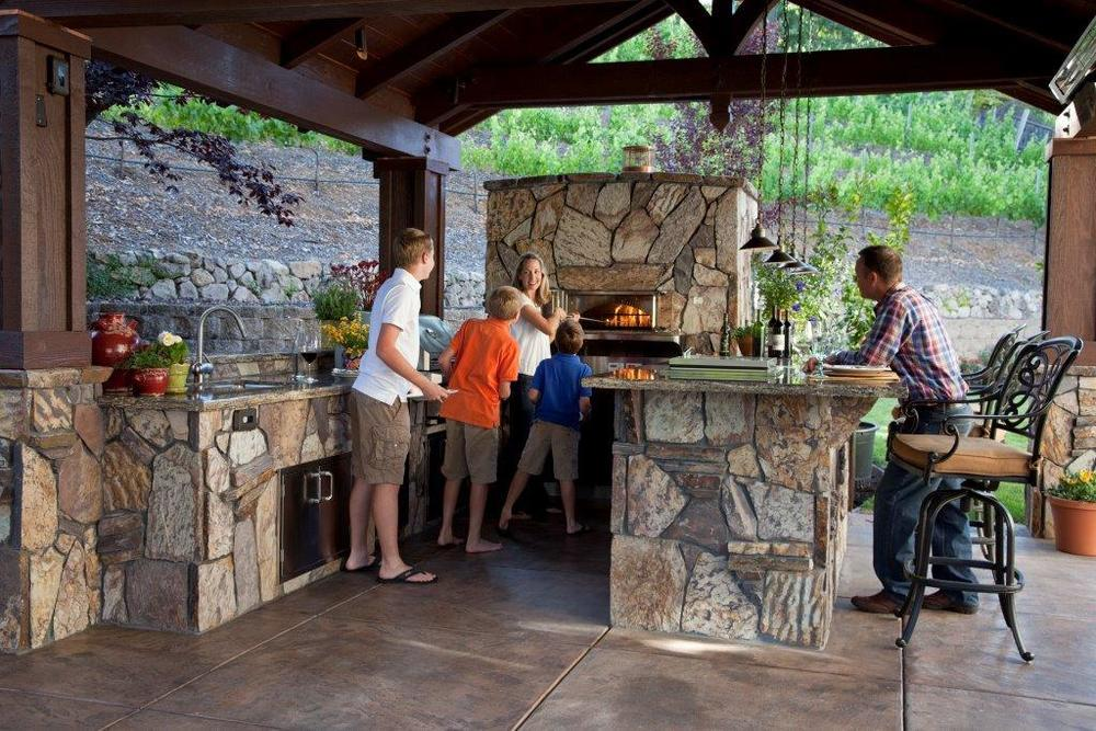 Wood Stone Home Outdoor Ovens Nice Look