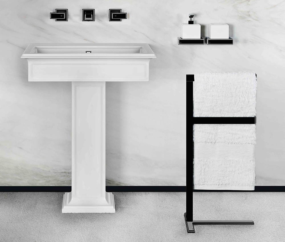 Fascino Gessi pedestal lav, towel bar and accessories.jpg