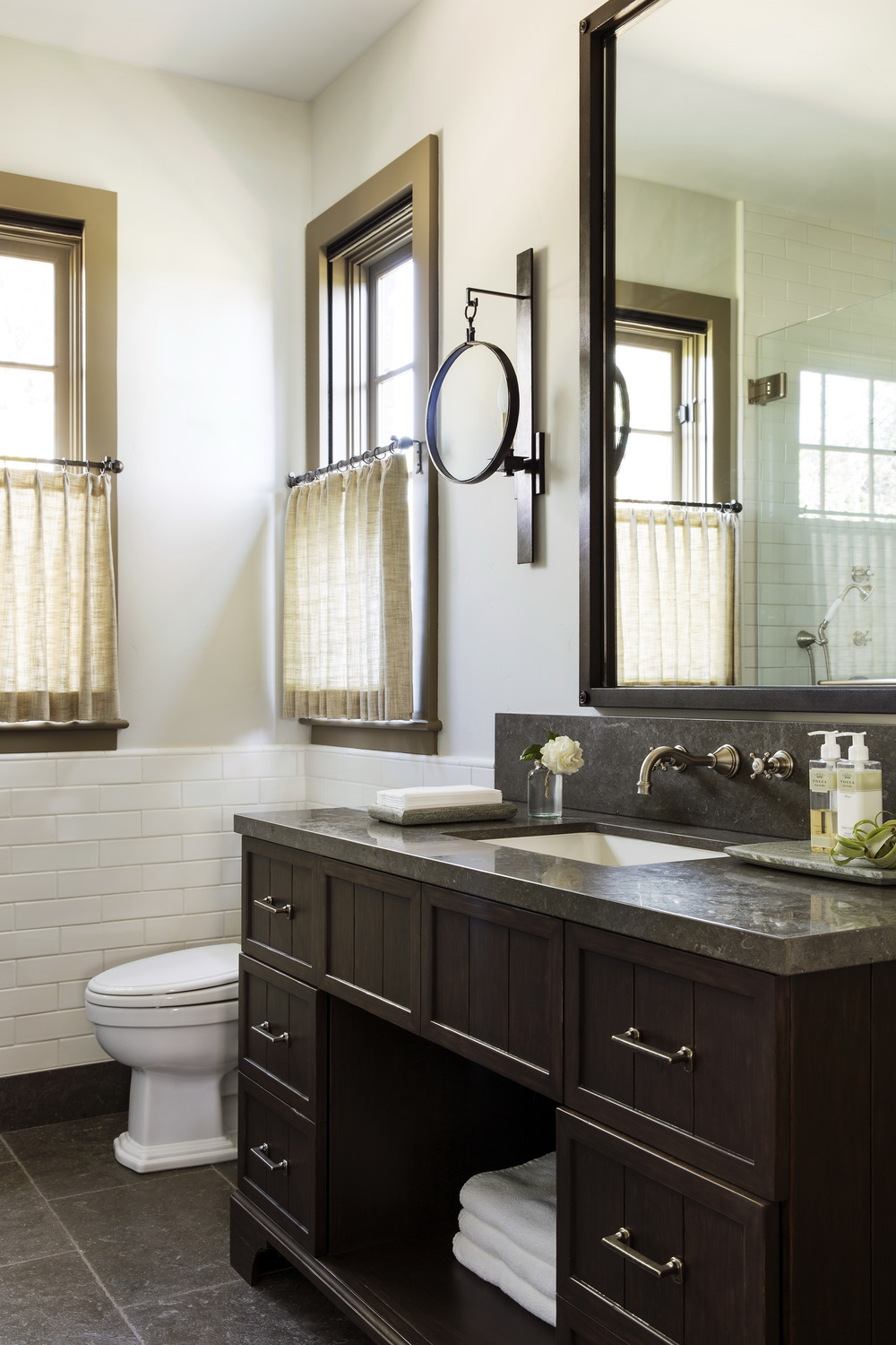 13 Brentwood Pennsylvania Stone Farm House Guest Bathroom.jpg