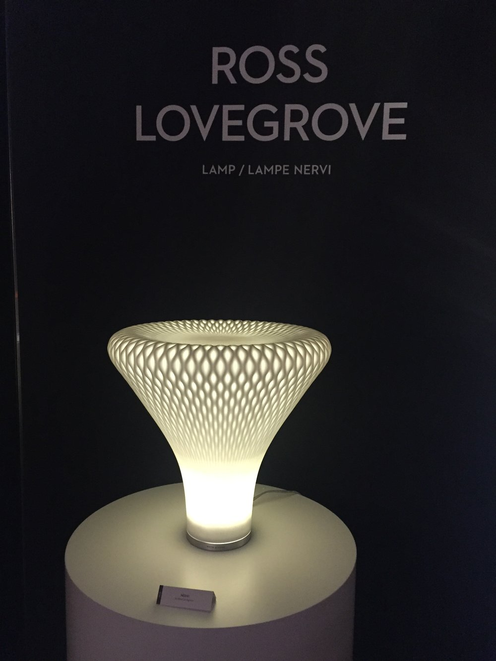 Rose Lovegrove Lamp at Vista Alegre booth.JPG