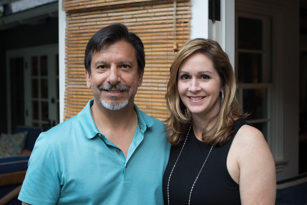 Robert Del Mazo and Melissa Thomas