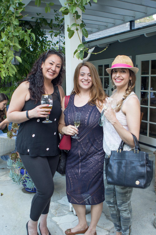 Valerie Schneider, Victoria Onley and Martina Troiano
