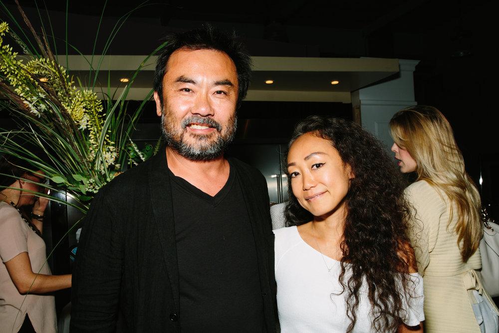 Takashi Yanai and Keiko Harada