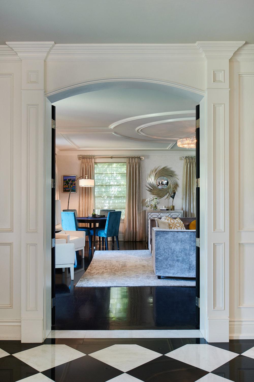 Interior Designer: Christine Santana | Photography: Peter Christiansen Valli