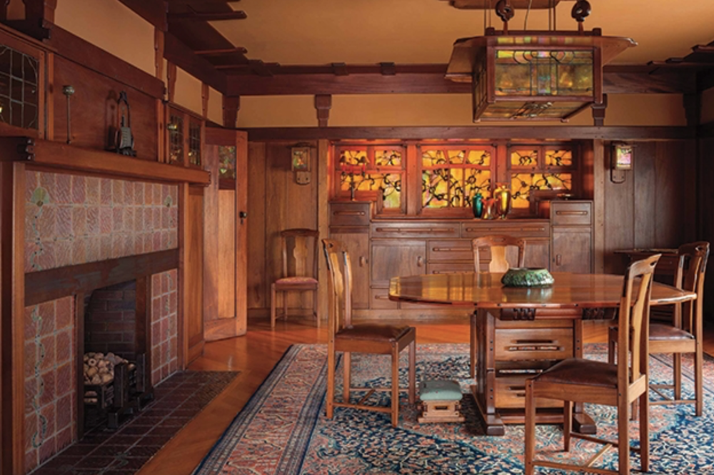 Photo by Alexander Vertikoff from   The Gamble House: Building Paradise in California