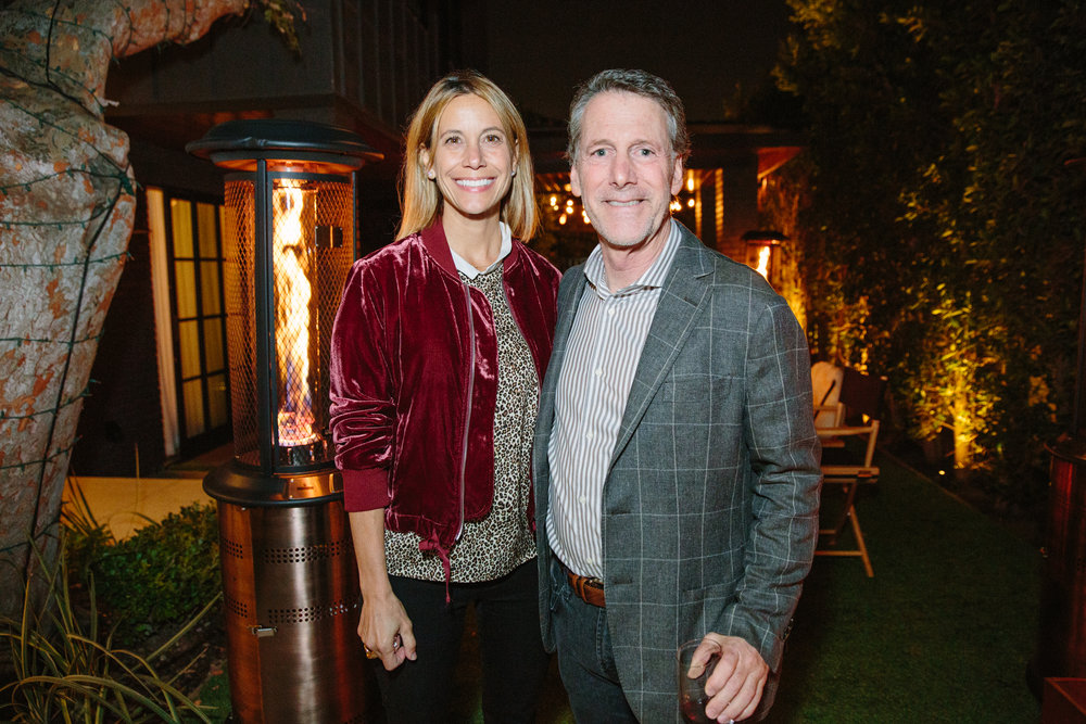 Russ Diamond and Crista Vaghi of  C Magazine