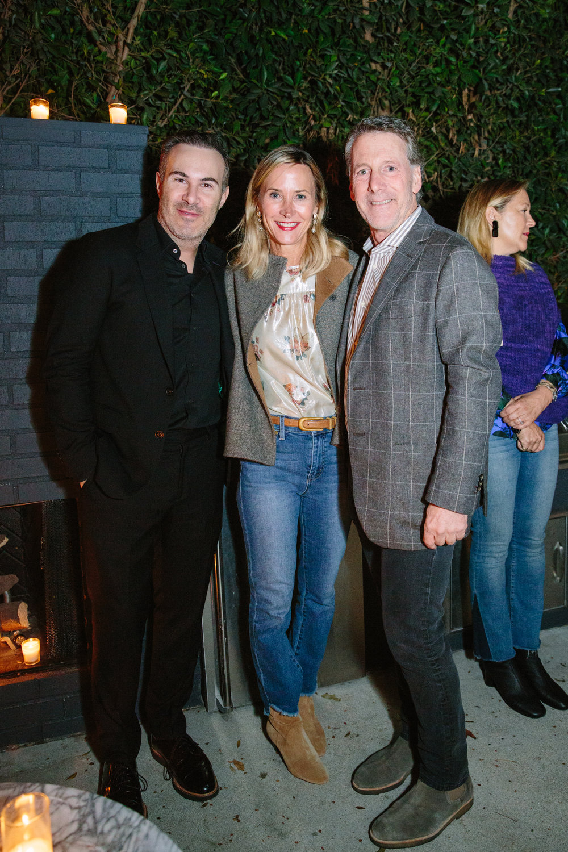 Adam Hunter, Heidi Bonesteel and Russ Diamond