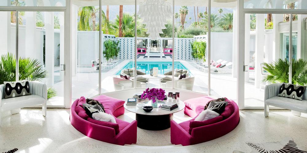 Villa Grigio, from Tim Street-Porter's  Palm Springs: A Modernist Paradise  (Rizzoli)