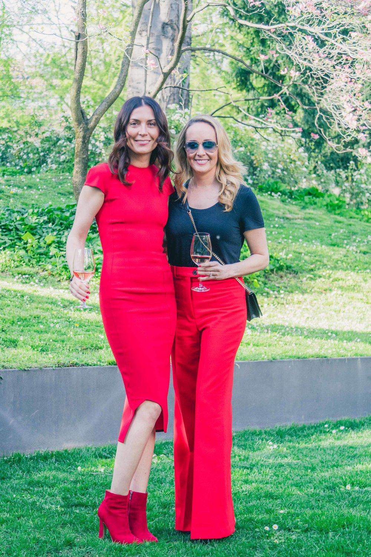 Interior designers Joanna Parol and Shirry Dolgin