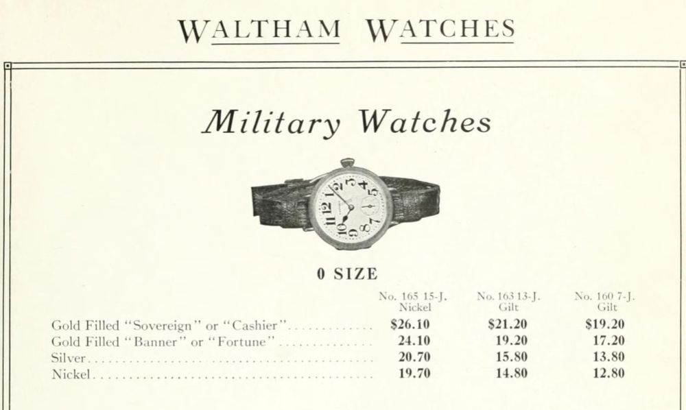 Waltham Military Strap Watches.png