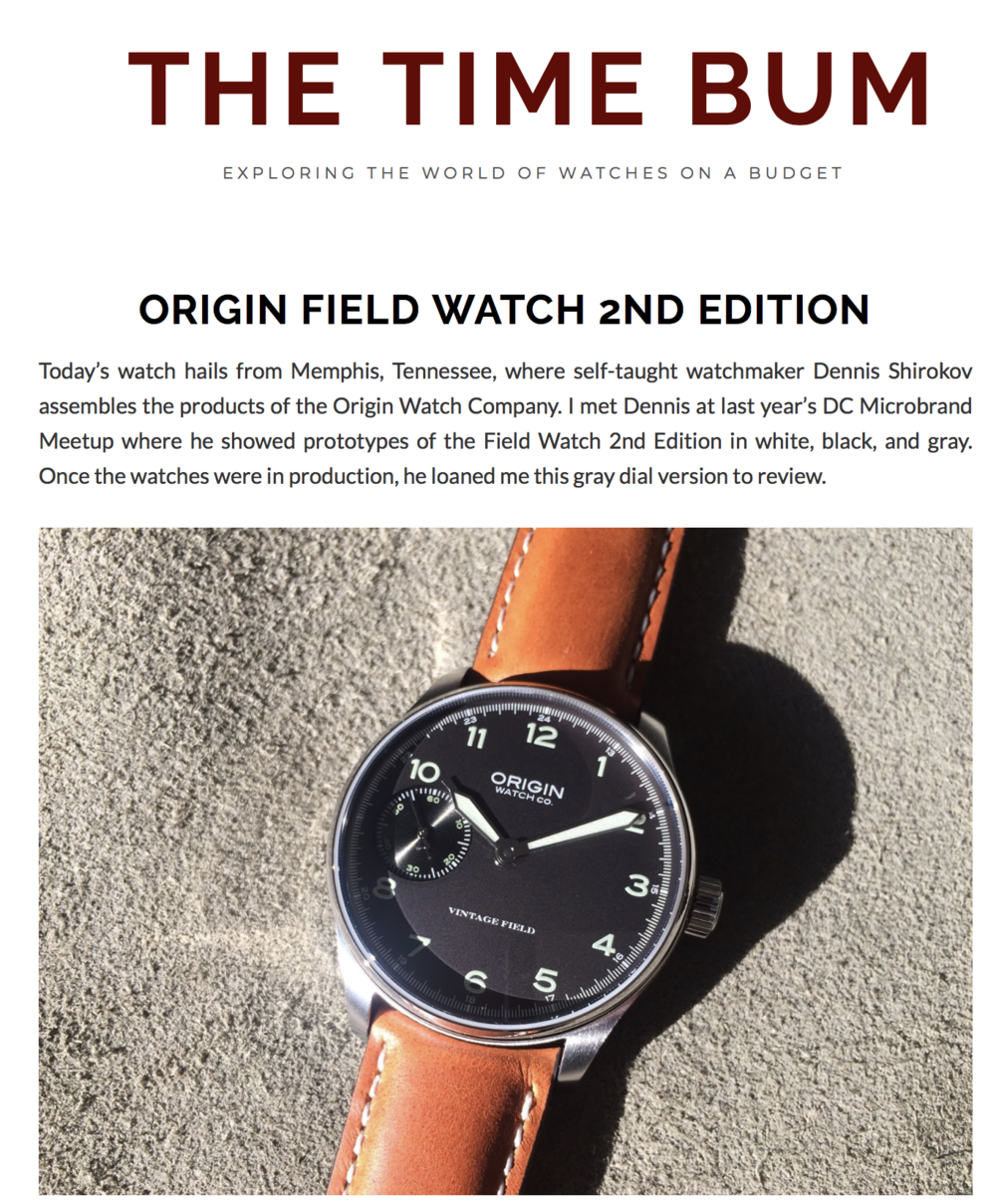 Introducing The Time Bum Review of our 2nd Edition