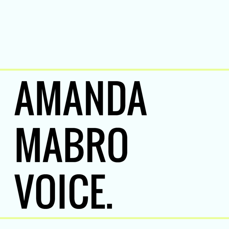 Amanda Mabro Voice Coaching