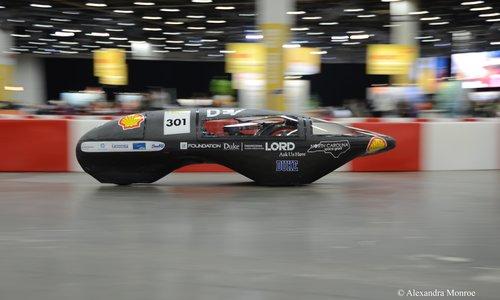 Duke Electric Vehicles 2016 prototype vehicle