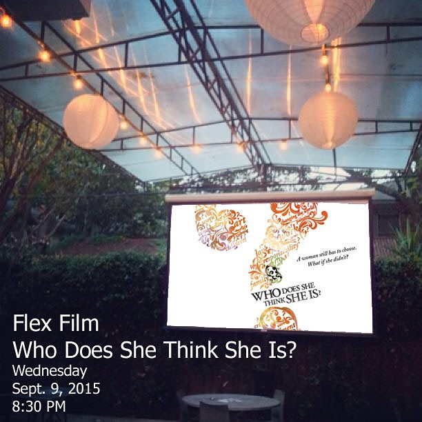 Please join us tomorrow for a screening Who Does She Think She Is? directed by Pamela Tanner Boll and Nancy Kennedy! #flexfilm #houston #houstonevents #sheworksflexible
