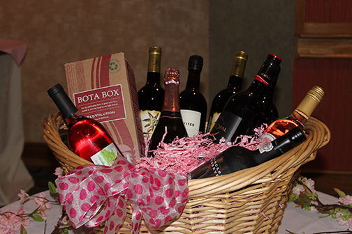 One of Door Prizes, A Big Basket of Cheer!