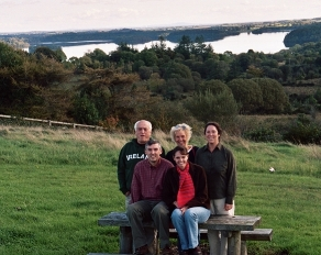 We bought our 1st digital camera in 2005, right before a trip to Ireland with my husband's family