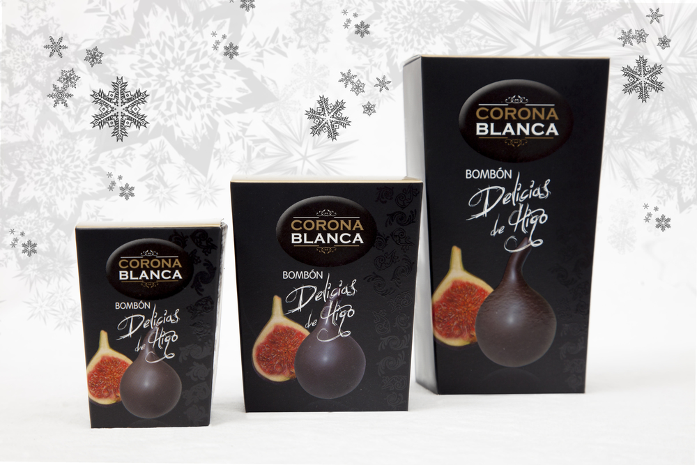 La Corona Blanca:  Fig chocolates