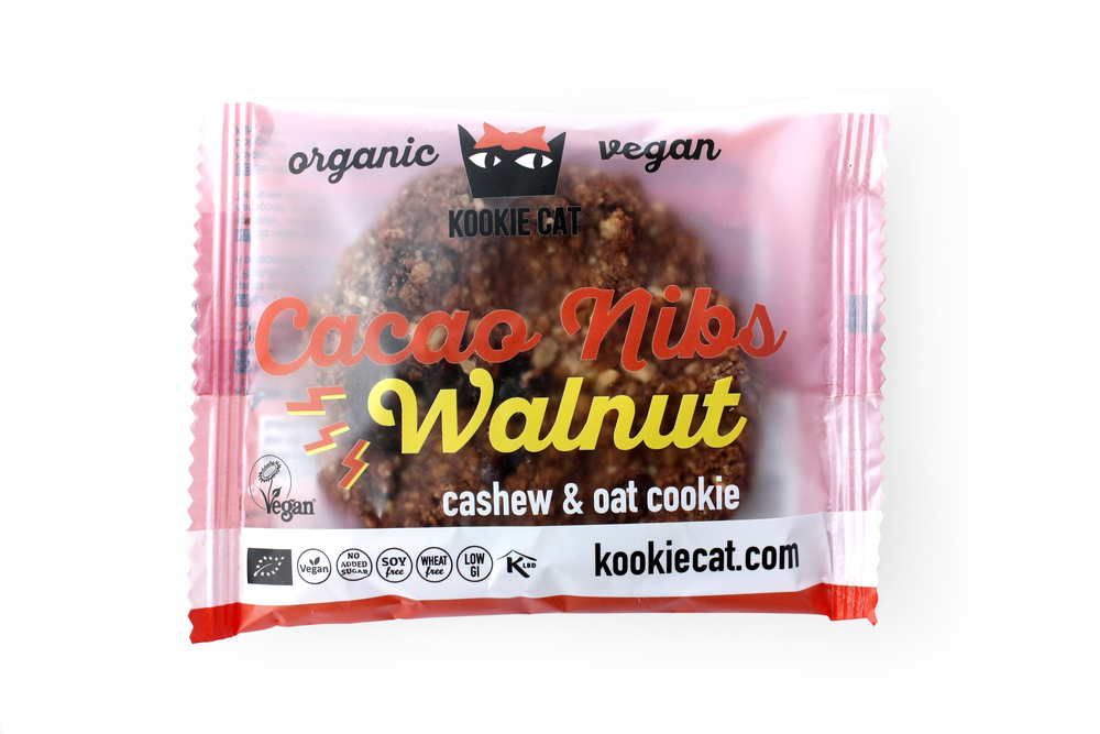 Kookie Cat: Galletas de Pepitas de Cacao y Nueces