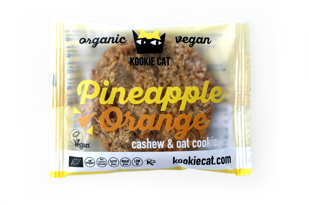 Kookie Cat: Galletas de Piña y Naranja