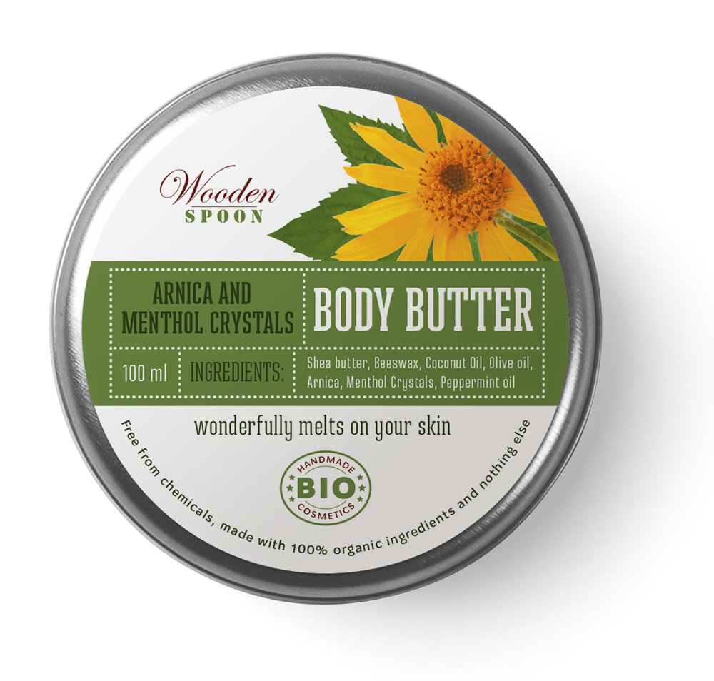 Body Butter Anica Mentol
