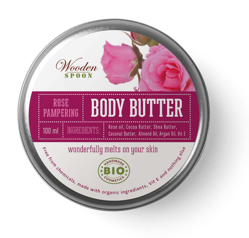 Body Butter Rose