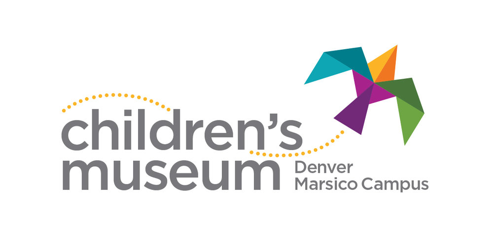Logo for Denver Children's Museum created for Mission Minded.