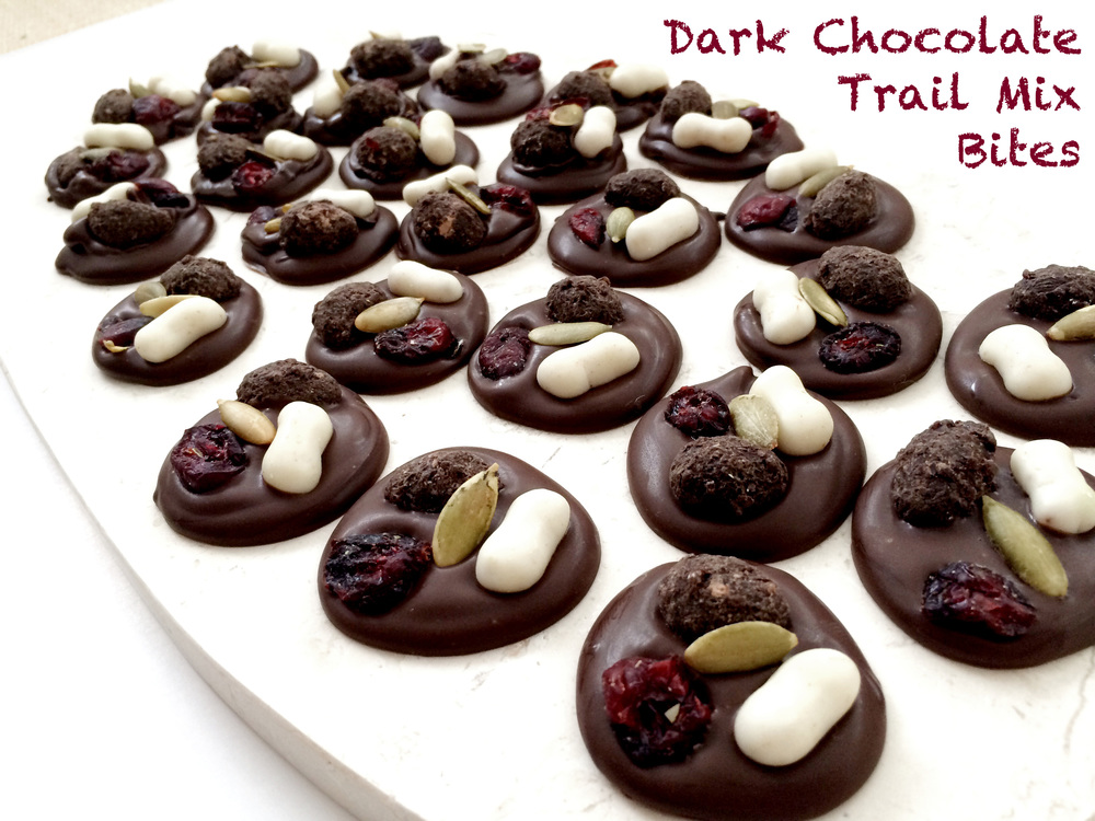 Dark Chocolate Trail Mix Bites 01