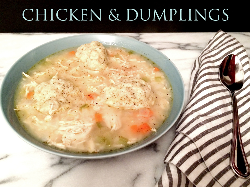 Chicken & Dumplings (SugarandRoses.net)