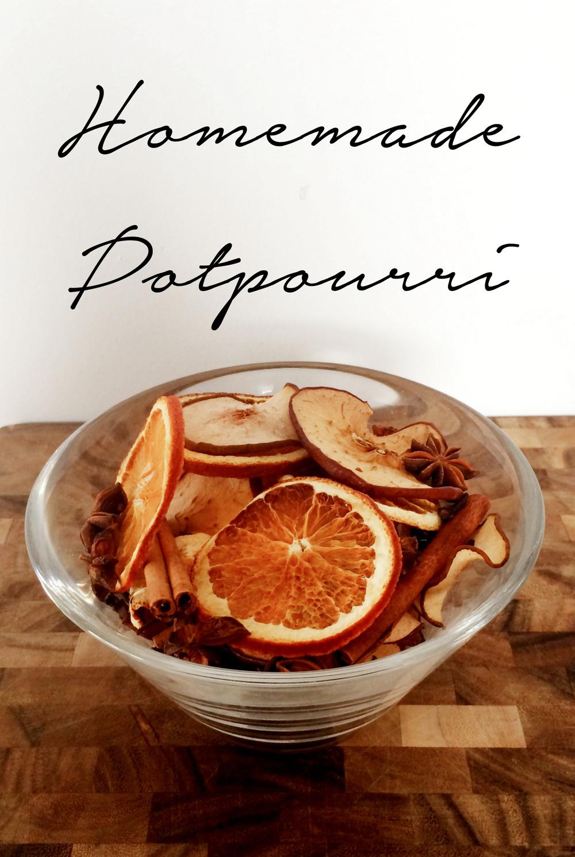 Sugar & Roses Homemade Potpourri - Title