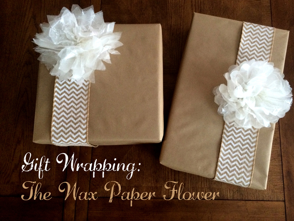 Gift Wrapping: The Wax Flower - Title (Sugar & Roses)
