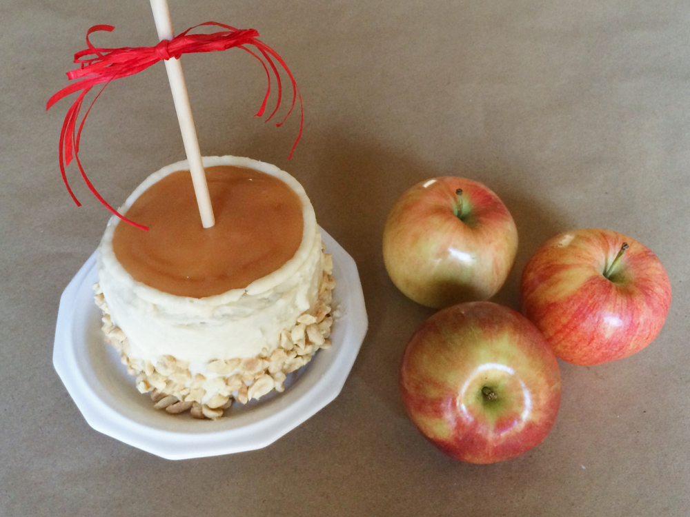 Caramel Apple Cake (Sugar & Roses)